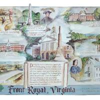 Front Royal Landmarks Art Prints & Posters by Joseph Bennecelli