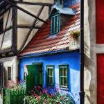 """Little House in Golden Lane inPrague Castle"" by George_Oze"