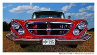 1962 Chrysler 300 Front End Color