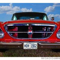 1962 Chrysler 300 Front End Color Art Prints & Posters by David Caldevilla