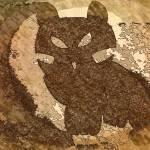 """""""Kitten Leaning on the Moon8"""" by lovelytibet"""