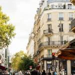 """Walking through a parisian street"" by Nadril_RB"
