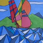 """""""Sailing on the waves"""" by GHunter"""