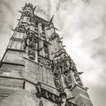 """""""Gothic tower against the sky"""" by Nadril_RB"""