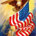 """usa eagle bird 2"" by rogueart"