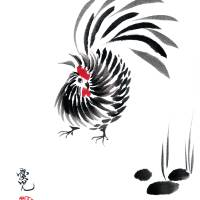 Happy Year of The Rooster Art Prints & Posters by Oi Yee Tai