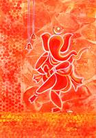Nritya Ganesha Dancing God