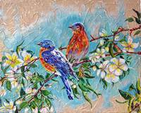 Thomas Dillon Conte Blue Birds