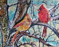Thomas Dillon Cardinals Snow