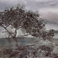 treee watercolor Art Prints & Posters by Irena Orlov
