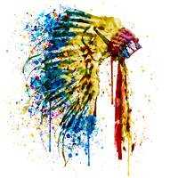 Native American Feather Headdress