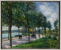 Allée of Chestnut Trees , Alfred Sisley