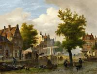Bartholomeus Johannes van Hove, On the Gracht