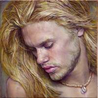 Painting-Male-Dillan Art Prints & Posters by Julian Hsiung