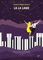 No756 My La La Land minimal movie poster