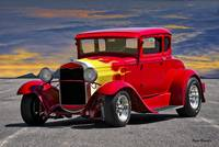 1930 Ford Model A Coupe VI