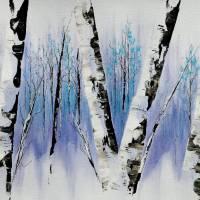 Dusk Forest Art Prints & Posters by Francine Bradette