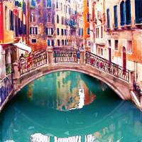 Small Bridge in Venice