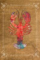 Lobster in Batik