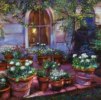 EVENING PATIO GARDEN
