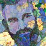 Echo Park Garden Flower Bear by RD Riccoboni