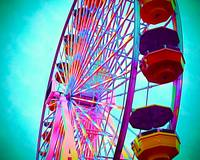 Painted Ferris Wheel