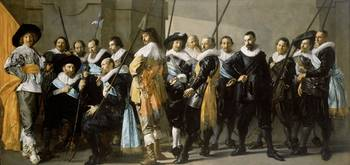 Frans Hals and Pieter Codde, the , Meagre Company