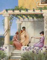 John William Godward, R.B.A. ,PLAYTIME
