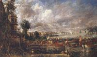 John Constable ,The Opening of Waterloo Bridge