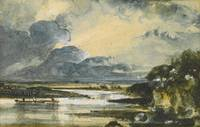 John Constable, R.A. APPROACHING STORM, VIEW ON TH