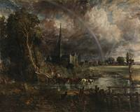 John Constable, Salisbury Cathedral from the Meado