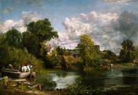 JOHN CONSTABLE, THE WHITE HORSE