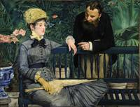 In the Conservatory, by Édouard Manet