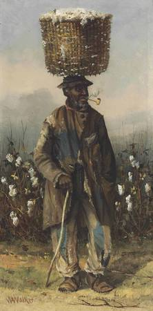 William Aiken Walker - Cotton Pickers (a man)