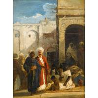 William James Müller 1812-1845 Ottoman life