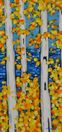 Birch Tree series 15x30