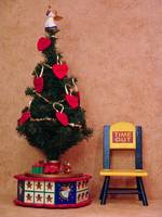 Time Out Chair Christmas Tree