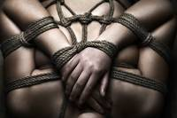 Rope Bondage Closeup - Fine Art of Bondage