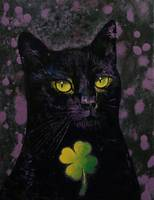 Lucky Black Cat