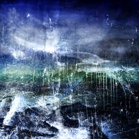 Abstract Moonlit Seascape Digital Painting 36b