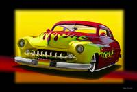 1950 Mercury Custom w Flames