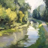 """White River Canal"" by lindseytull"