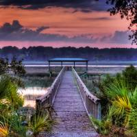 Morning on the Tidelands by Jim Crotty