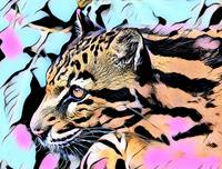 Tiger Pop Art Comic 2
