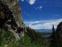 Death Canyon Trail in Grand Teton National Park wi
