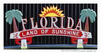 Florida Land of Sunshine Poster