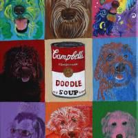 Labradoodle Soup Art Prints & Posters by Yvonne Carter