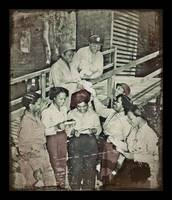 Nurses in South Pacific Open Mail WWII