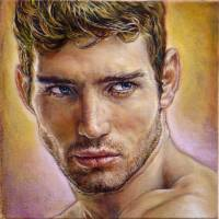 Painting-Man-#10-