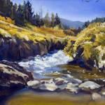 """Warren Keating CALIFORNIA MOUNTAINS Fine Art Print"" by KeatingArt"